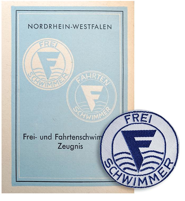 Frei- und Fahrtenschwimmer Zeugnis